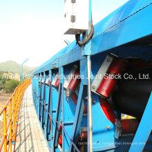 Por via terrestre sistemas de transporte de correia da tubulação do RUÍDO / Cema / ASTM / Sha padrão / transporte transportador da tubulação