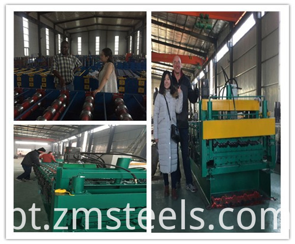 686type floor decking roll forming machine