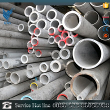 AISI 304 Duplex tubo de aço inoxidável com PVC