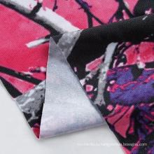 Трикотажный трикотаж с принтом из воска, ткань с африканским принтом