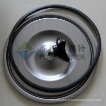 FORST Carbon Matel Staubkartuschen Filterdeckel für Staubabscheider