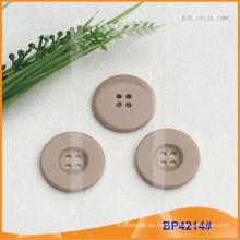Botón de poliéster / Botón de plástico / Botón de camisa de resina para el escudo BP4214
