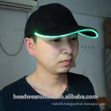 high quality led cap /baseball cap