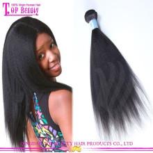 A cabelo não processado de venda superior de tecelagem do cabelo humano aceita o cabelo do russo do Virgin de Paypal