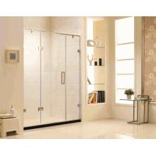 K12 Australian Standard Frame Salle de bain porte en verre trempé