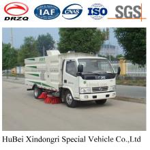 4cbm Compact Dongfeng Street Road Kehrmaschine Euro 4