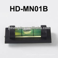 HD-MN01-B, Mini-Kunststoff-Niveau mit V-Nut für Rohr