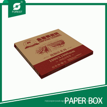 Caja de empaquetado impresa alta calidad de la baldosa cerámica del logotipo de Brwon