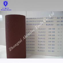 rouleau de tissu d'émeris flexible d'oxyde d'aluminium de bonne qualité pour la machine