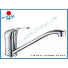 Grifo de lavabo de cocina de latón sanitarios (ZR20505)