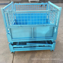 Foldable Steel Wire Mesh Container