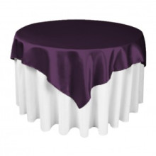 Square Party Table Cloth Overlay for Decoration