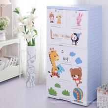 Модный мультфильм дизайн PP хранения шкаф (206053)
