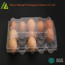 Clear transparent plastic egg container for sale