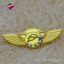 Mode Odisha Gold Flügel geformte Stifte mit Satrs