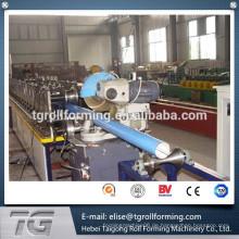 Hochgradige Downspout / Regen Auslauf Rohrrollenformmaschine für Regenwasser 7.5Kw made in China mit niedrigem Preis