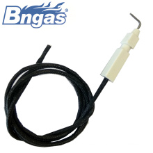 Gas oven parts electrode igniter
