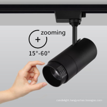 classical zooming track led spotlight GU10