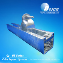 Acessórios da bandeja de cabo das braçadeiras de tubulação da canalização