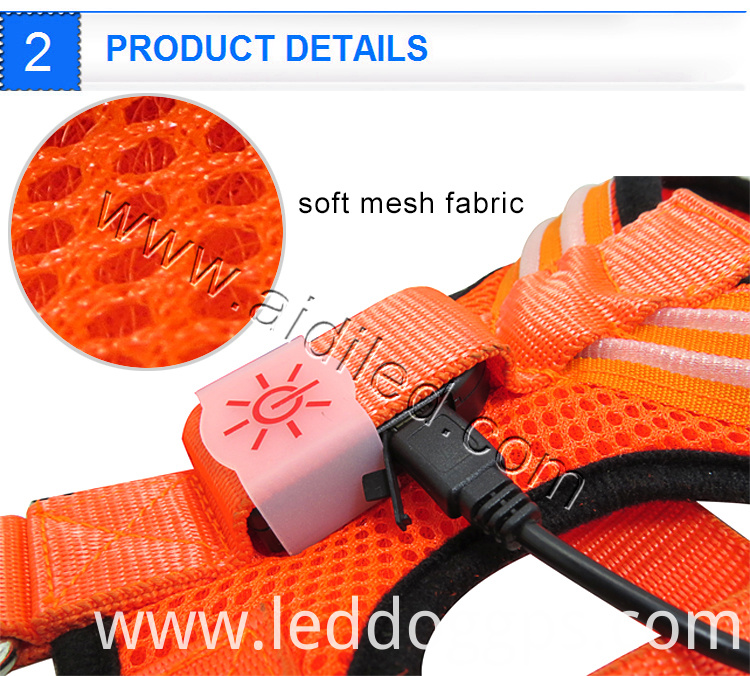 Led Light-Up Flashing Harness