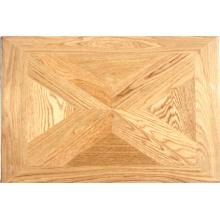 Suelo de parquet / madera dura de roble natural engrasado de roble