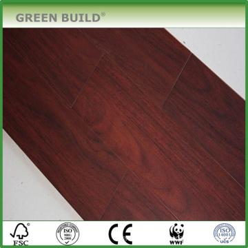 Handscraped науглероживанный цвет 14мм твердые нити ткани Bamboo настил