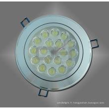LED blanche blanc / chaud plafonnier Spot 18W pour longue durée de vie du logement