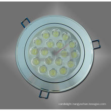 White/ Warm White 18W LED Ceiling Spotlight for Housing Long Lifespan