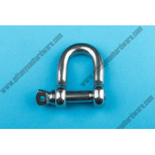 European Type Large Dee Shackle Stainless Steel Marine Hardware