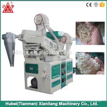 Huller funcional del arroz de arroz de la salida 1000kg / hr