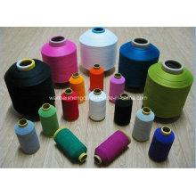 100% gesponnene Luft, die Polyester-Garn verdreht
