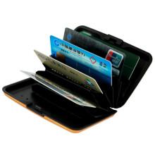 Portefeuille en carte de crédit en aluminium