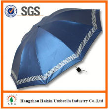 MAIN PRODUCT!! Custom Design 3 fold manual umbrella 2015