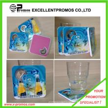Nuevo estilo PS Coaster con abridor de botellas (EP-C65511)