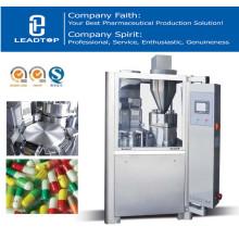 Máquina de llenado de cápsulas para polvos de relleno, granulados y pellets