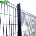 Decorative PVC Coated 3D Curved Wire Mesh Fence