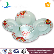 elegant Chinese plates ceramic tableware white