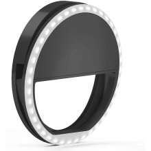 Promo Rechargeable cell phone Light for Cell Phone light selfie LED ring lights