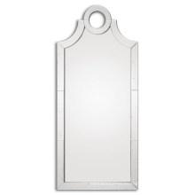 Espejo de gran tamaño ligeramente antiguo sin marco para la decoración del hogar