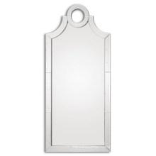 Негабаритных слегка старинное зеркало frameless для домашнего украшения