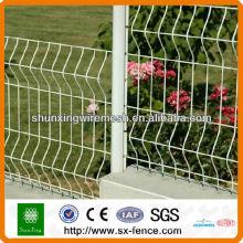 Clôture métallique de jardin