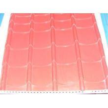 5.5kw Steel Glazed Tile Forming Machine with 10 - 15 m / mi