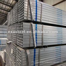 Tubo de acero rectangular de carbono ERW