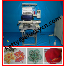 High performance & effiency single head computerized embroidery Machine Digital for large Area Embroidery