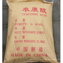 Hot! ! Factory Price Itaconic Acid 99.6% 99.97% Purity (CAS No: 97-65-4)