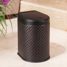 Diamond Design Leather American Style Press Dust Bin (H-3LK)