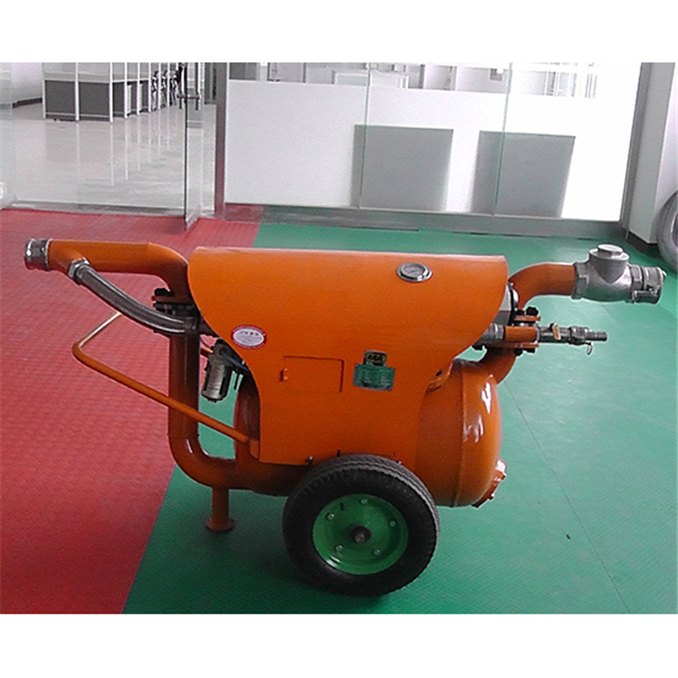 coal pneumatic pump Australia style for dredging mud (3)