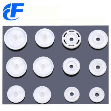KAM white plastic snap button of best quality