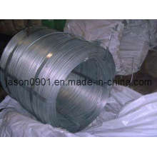 Fil en acier galvanisé à haute teneur en carbone de 5,0 mm, fil en acier