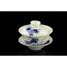 Popular lotus chá xícara conjuntos e pires atacado